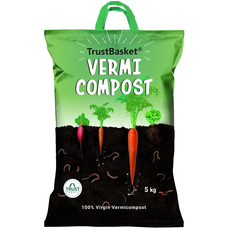 Trustbasket organic vermicompost: