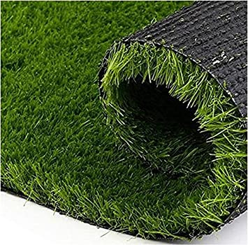 Yellow weave 5 x 10 feet high - density artificial grass: