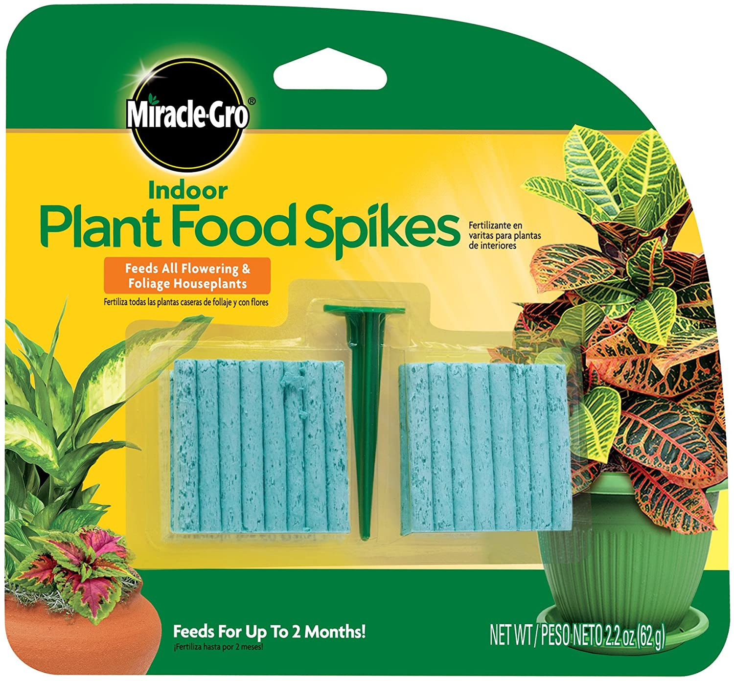 How to use Fertilizers Spike for Indoor Plants