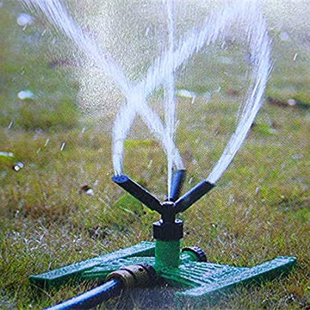 Generic 3 arms garden lawn sprinkler: